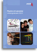 Cover of our physics prospectus